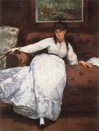 Berthe Morisot was a french painter and printmaker. She was a child of upper middle-class parents. She was expected to be a skilled amateur artist and was thus given appropriate schooling. In 1857 she attended drawing lessons, but in 1858 her and her sister registered as copyists in the Louvre. Through her experiences in the art world she ended up meeting some important people.