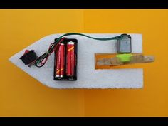 How to Make a Simple Toy Boat with DC Motor at Home - YouTube