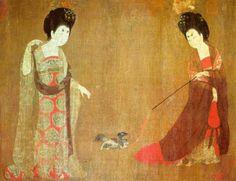 Zhou Fang - painter during the mid-Tang dynasty - Buddhachannel : le portail du bouddhisme dans le monde