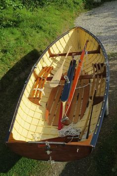 Classic 12' mahogany sailing dinghy. Beautifully restored with excellent Hyde sails. | Falmouth, Cornwall | Gumtree