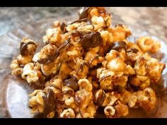 Did you know that January 19th is National Popcorn Day? What better way to celebrate than with peanut butter AND chocolate popcorn??!! Perfect Stove-top popc...