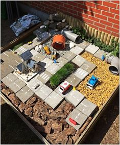 outdoor play area for kids – Kids' Playground . Kids Outdoor Play, Outdoor Play Spaces, Kids Play Area, Outdoor Learning, Backyard For Kids, Outdoor Fun, Garden Kids, Fence Garden, Indoor Play
