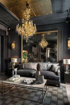 201 Best Dark Living Room Ideas images | Dark living rooms ...