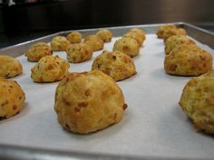 Bacon Cheddar Biscuits Recipe on Yummly