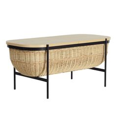 The OK Design - Willow bench in black