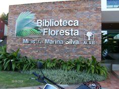 Biblioteca da Floresta - Rio Branco/AC