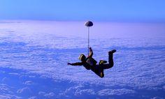 #Fallschirm #Mut #Freiheit
