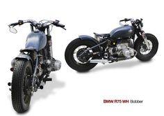 BMW R75 WH rigid | Harley-Davidson Big Twin fork