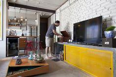 Open house - Cláudio Brandi. Veja: http://www.casadevalentina.com.br/blog/detalhes/open-house--claudio-brandi-2967 #decor #decoracao #interior #design #casa #home #house #idea #ideia #detalhes #details #openhouse #style #estilo #casadevalentina #livingroom #saladeestar