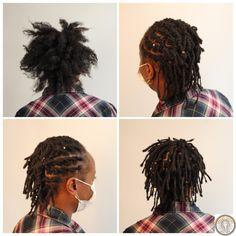 Mélanie souhaitait être enfin tranquille avec sa chevelure indomptable. Elle avait tout essayé pour régler ce soucis : #tresses, #vanilles, #twists et #lissages. Mais rien n'a fonctionné. Mélanie m'a, alors, contacté pour que je la conseille. Je lui ai recommandé de porter des #sisterlocks les plus fines possibles. Un fois créées, je les ai tressées vers l'arrière. An artwork from #Dreads Expert 😃 #afro #hair #hairstyles #hairstylesforshorthair #hairstyles #dreadlocks #locs #locstyles… Dreads, Sisterlocks, Afro, Thin Hair, Braid, Dreadlocks, Goddess Braids, Locs, Africa