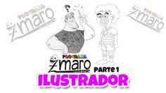Fabiano, Ilustrador que já trabalhou na Mauricio de Souza e Menino Maluquinho - part1 Zmaro