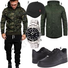 Street-Style für Männer mit Camouflage-Pullover (m0843) #camouflage #jogginghose #invicta #watch #outfit #style #herrenmode #männermode #fashion #menswear #herren #männer #mode #menstyle #mensfashion #menswear #inspiration #cloth #ootd #herrenoutfit #männeroutfit