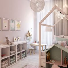 How Pink Tastefully In A Children& Room Without Doing It: 6 Detailed Examples That . - How Pink Tasty In A Child& Room Without Doing It: 6 Detailed Examples Showing How - Kids Bedroom Designs, Kids Room Design, Baby Bedroom, Baby Room Decor, Bedroom Decor, Men Bedroom, Girls Bedroom Furniture, Girl Bedrooms, Bedroom Kids