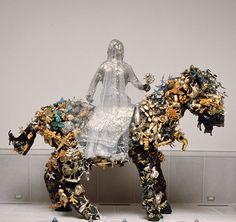 Niki de Saint Phalle, La Mariee a Cheval