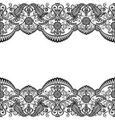 Card with lace vector 1221427 - by Prikhnenko on VectorStock®