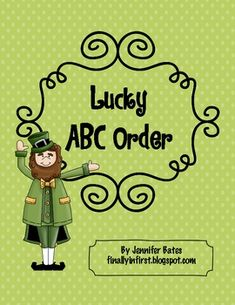 Lucky ABC Order Freebie   # Pinterest++ for iPad #