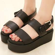 Résultats de recherche d'images pour « platform sandals »