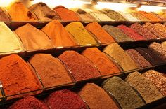 Spice market in Istanbul. The heavenly scent is something I can't wait to experience.