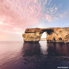 #Evening at Azure Window in #Gozo - Thanks to @ga_walker for the #photo - #MaltaPhotography - http://ift.tt/1fpoK0v