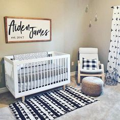 Nursery is finally clean— only took 2 months! I had it all ready for her arrival, she came and the nursery blew up. Scrounging for clothes,… Baby Boys, Baby Boy Rooms, Baby Boy Nurseries, Baby Boy Nursery Themes, Nursery Room Decor, Girl Nursery, Boho Nursery, Woodland Nursery, Nursery Ideas