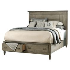 Brownstone Storage Bed