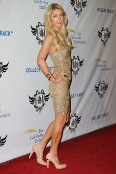 Paris Hilton at the 1st Annual Trans4mation Experience in LA 02/11/12