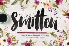 Smitten Script + Bonuses by MakeMediaCo. on Creative Market