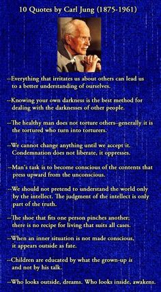 Carl Jung quotes // my favorite psychologist. so intrigued by his work.