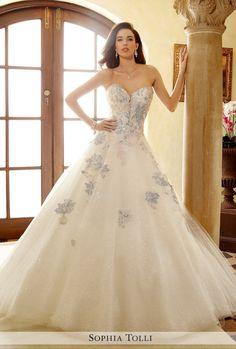 Sophia Tolli for Mon Cheri wedding dresses