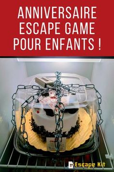 Escape room can't eat the cake Room Escape Games, Escape Room Diy, Escape Room For Kids, Escape Room Puzzles, Geheimagenten Party, Party Cakes, Spy Birthday Parties, 9th Birthday, Birthday Cake