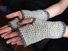 Crochet - Pulse warmers