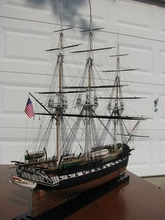 NRG-nautical research guild ship model photographic contest winners 2011 - Journeyman Ship Modeler - Silver Medal - Jimmy E. Quast - USS Constitution - #miniatures #scalemodels
