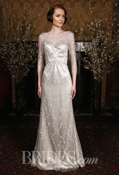 Brides: Austin Scarlett Wedding Dresses   Spring 2015   Bridal Runway Shows   Brides.com | Wedding Dresses Style