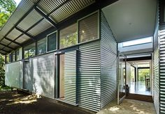 build a house with corrugated metal - Google Search