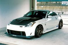 I can install a body kit on your car, like the one on this Nissan