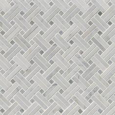Bathroom | Decorative mosaics wall tile Natural Stone Arabescato Carrara page2