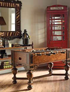Foosball Table by Maitland Smith Furniture