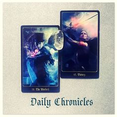 #dailychronicles for May 20th.  There could be some delays today or it may seem as if certain things are being held up. Whilst you may feel as though you have to dodge a few obstacles or challenges along the way you will get there in the end... which should make the victory of success that little bit sweeter!  Dont lose sight of your goal today.   #chroniclesofdestiny #fortunecards #cartomancy #divination #tarot #tarotcards #oraclecards #guidance #dailycard #warlock #victory by emsellershaw