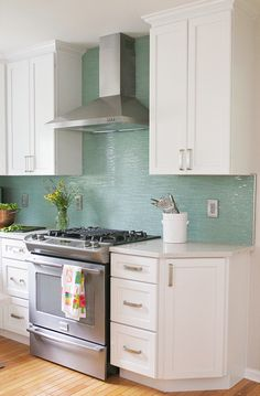 turquoise backsplash | Welcome to the Mouse House