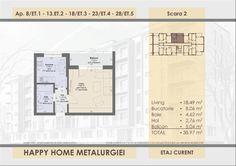 Happy Home Residence Berceni Metalurgiei - Sud Rezidential Floor Plans, Happy, Home, Ad Home, Ser Feliz, Homes, Haus, Floor Plan Drawing, House Floor Plans