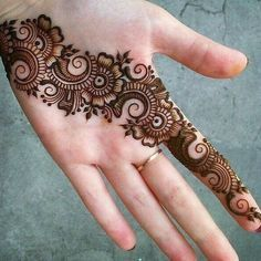 Palm Henna Designs, Latest Arabic Mehndi Designs, Back Hand Mehndi Designs, Mehndi Designs For Girls, Mehndi Designs 2018, Mehndi Designs For Beginners, Stylish Mehndi Designs, Dulhan Mehndi Designs, Mehndi Designs For Fingers