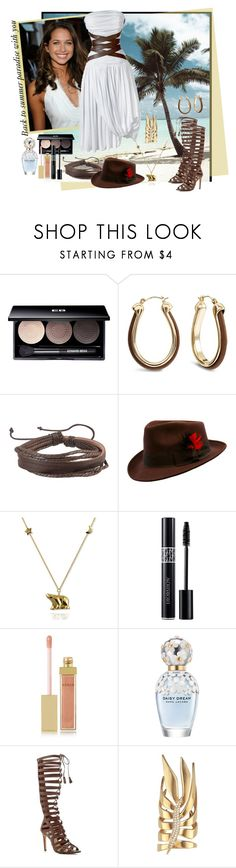 """""""I'll be there in a heartbeat"""" by julyralewis ❤ liked on Polyvore featuring CÉLINE, Edward Bess, Chico's, Zodaca, Christian Dior, AERIN, Marc Jacobs, Vince Camuto and Eddie Borgo"""