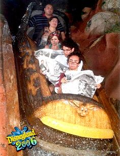 They be like.. This ride is boring, I'll read instead! glad we brought our papers!