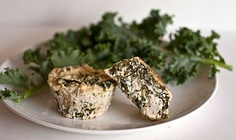 Kale Ricotta Cups  Featured Ingredient: Kale