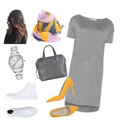 """""""Day to night outfit"""" by yenitza on Polyvore featuring T By Alexander Wang, Yigal Azrouël, Valextra, Converse, Orciani and Mestige"""