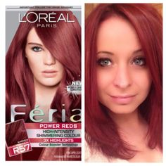 27 Angled Bob Hairstyles Trending Right Right Now for 2019 - Style My Hairs Loreal Hair Color Red, Feria Hair Color, Red Hair Color, Box Hair Dye, Dyed Red Hair, Box Dye, Dark Pink Hair, Angled Bob Hairstyles, Haircuts