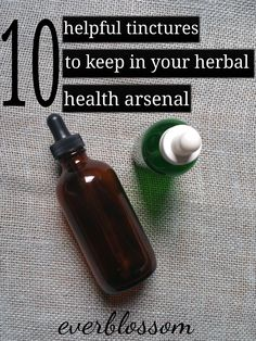Natural Holistic Remedies Here are 10 helpful herbal tinctures to keep around for common ailments! - Here are 10 helpful herbal tinctures to keep around for common ailments! Holistic Remedies, Natural Health Remedies, Herbal Remedies, Healing Herbs, Medicinal Herbs, Natural Healing, Holistic Healing, Natural Oil, Holistic Wellness