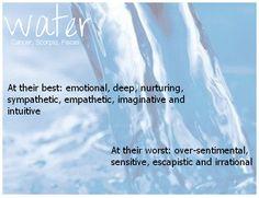 water signs best n worst