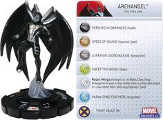 Archangel LE #104 Giant Size X-Men Marvel Heroclix - Marvel: Giant-Size X-Men - Heroclix