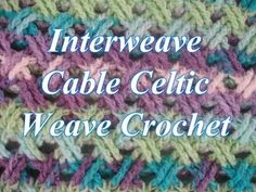 Interweave Cable Celtic Stitch (Blanket) – Design Peak
